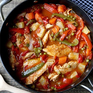 Chicken Afritada Recipe