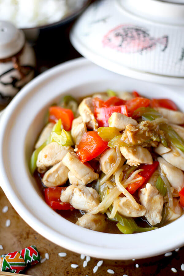 Chicken chop suey recipe pickled plum food and drinks chicken chop suey recipe forumfinder Choice Image