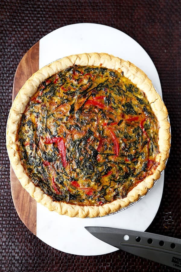 spring Swiss Chard Pie With Gruyère - Feed your family a healthy and ...
