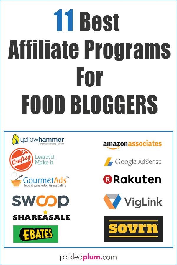 11 best affiliate programs for food blogs pickled plum food and drinks 11 best affiliate programs for food blogs fandeluxe Images
