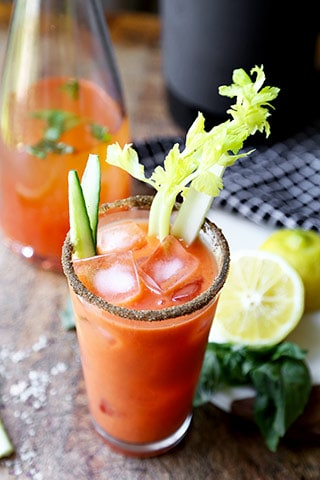 Gazpacho Bloody Mary - Pickled Plum Food And Drinks