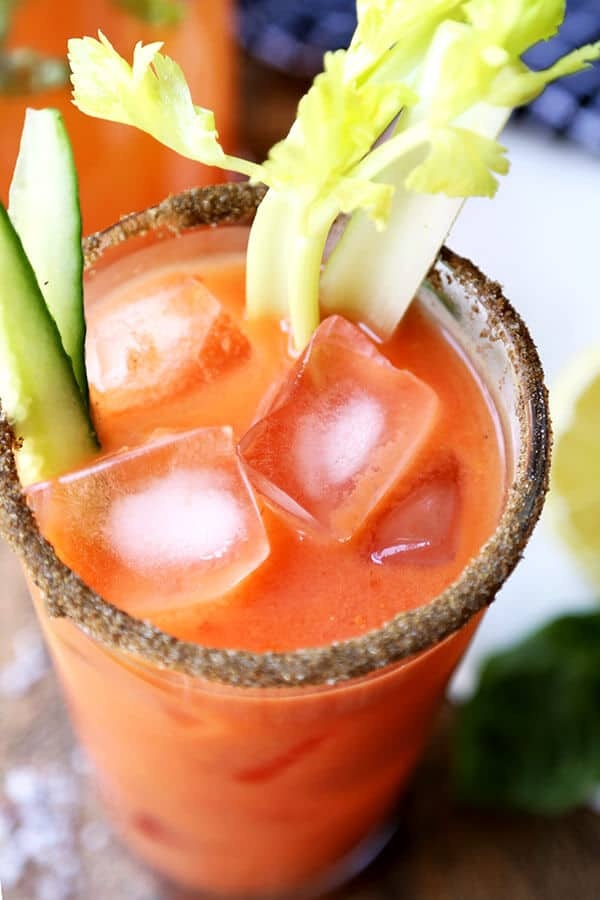 Gazpacho Bloody Mary - A fresh and zesty Gazpacho Bloody Mary Recipe ...