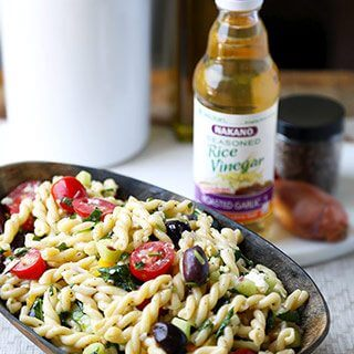Not Just Another Greek Pasta Salad