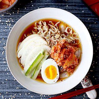 Cold Shirataki Noodle Soup (Naengmyeon)