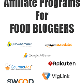 9 Best Affiliate Programs For Food Blogs