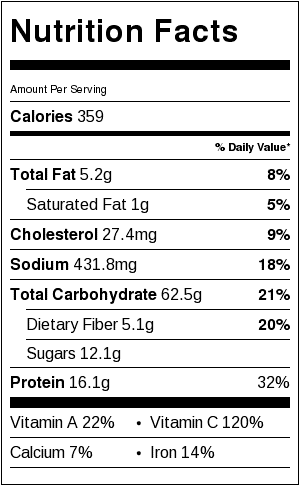 Easy Seafood Paella Recipe Nutrition Facts