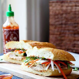 Chicken Banh Mi Sandwich Recipe