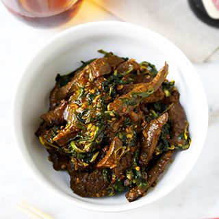 Hunan Beef With Cumin Recipe