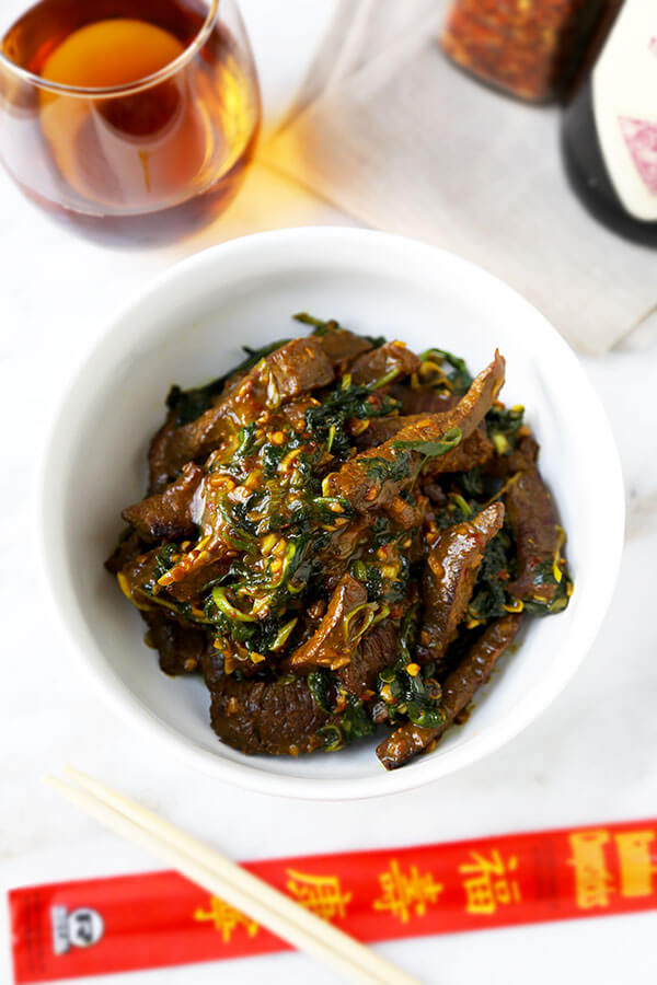 Hunan beef with cumin recipe pickled plum food and drinks hunan beef recipe a smoky bowl of hunan beef with cumin loaded with umami flavor forumfinder Gallery