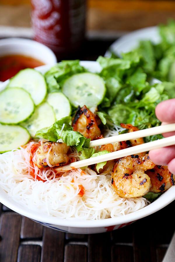Shrimp Bun Cha Recipe Pickled Plum Food And Drinks