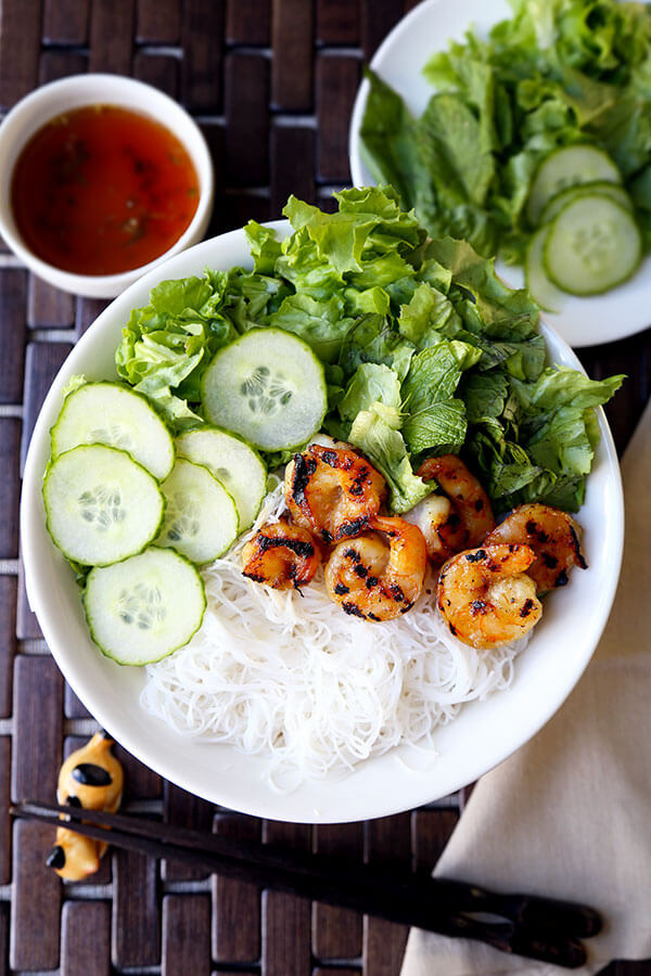 Shrimp Bun Cha Recipe Pickled Plum Food And Drinks