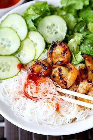 Shrimp Bun Cha Recipe - Pickled Plum Food And Drinks