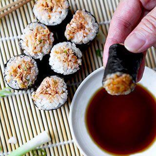 Spicy Tuna Roll (Poor Man's)