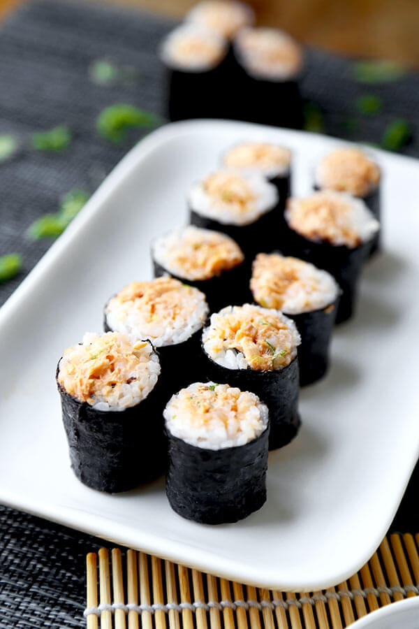 Spicy Tuna Roll (Poor Man's) - Pickled Plum Food And Drinks