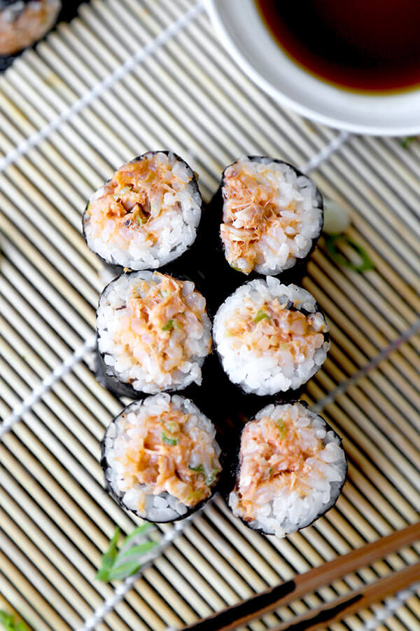 Spicy Tuna Roll Poor Man S Pickled Plum Food And Drinks