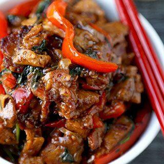 Seitan and Vegetable Stir Fry Recipe