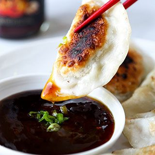 Shrimp Gyoza (Pan-Fried Dumplings)