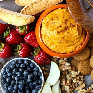 10-Minute Pumpkin Dip Recipe