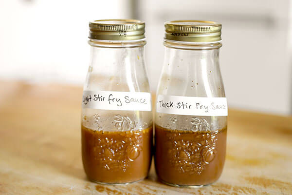 Basic Stir Fry Sauce - Lay down a delicious flavor foundation to your Chinese influenced dishes with Stir Fry Sauce! This savory master sauce is a kitchen hack that will speed up any stir fry project! Recipe, sauce, stir fry, DIY, homemade sauce | pickledplum.com