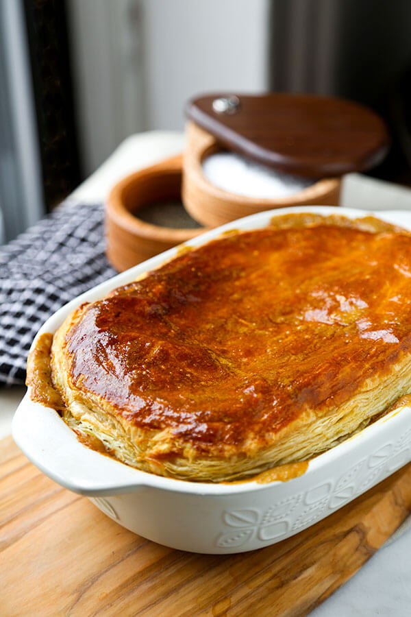 Hearty Vegetable Pot Pie - This hearty vegetable pot pie with creamy ...