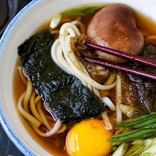 Light Udon Noodle Soup