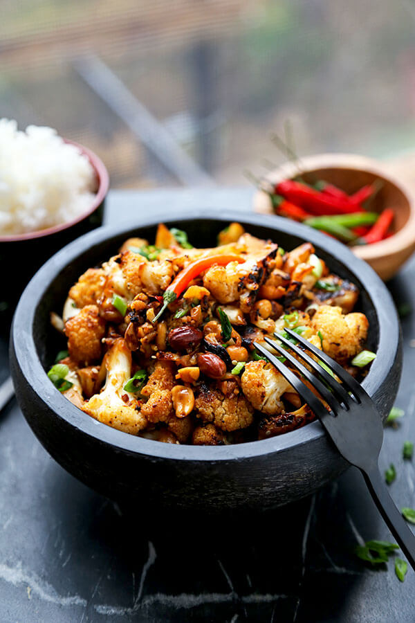 Kung Pao Cauliflower Recipe