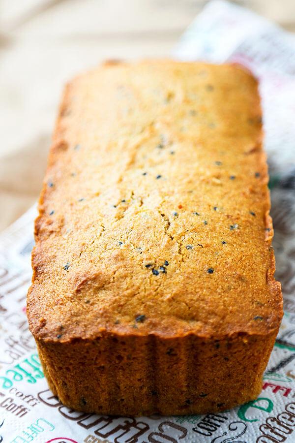 Purple Sweet Potato Pound Cake Recipe