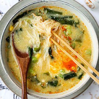 Wakame And Vermicelli Soup