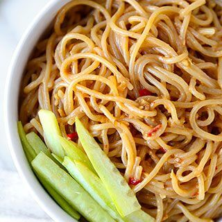 Chilled Sesame Noodles Recipe