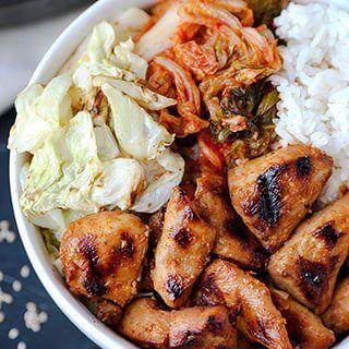 Chicken Bulgogi With Cabbage