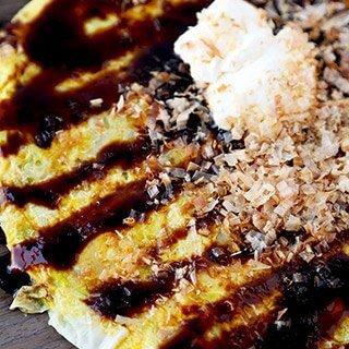 Okonomiyaki Style Omelet
