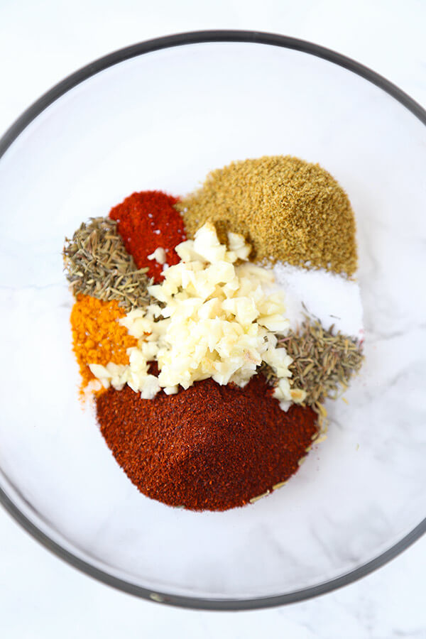 spices for vegetarian chili