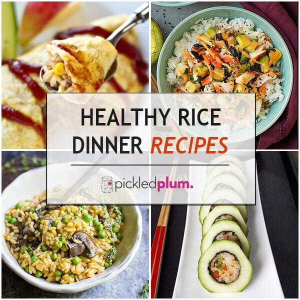 10 healthy rice dinner recipes
