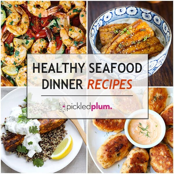 75 healthy dinner recipes ready in 30 minutes or less for Healthy fish dinner recipes