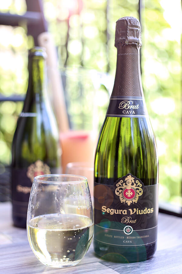 National bubbly day cava sangria pickled plum food and for Cava sangria