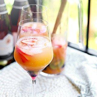 Drinks recipes for Cava sangria