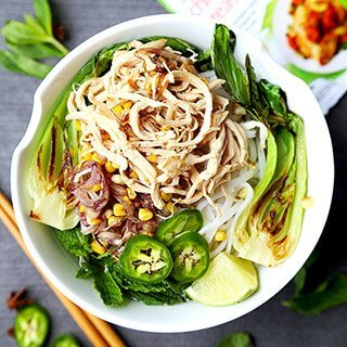 Summer Chicken Pho
