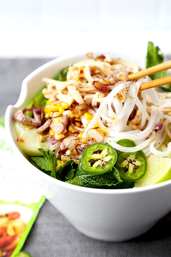 how to make chicken pho with chicken broth