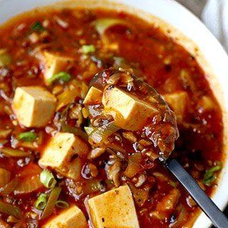 The Ultimate Vegan Mapo Tofu (麻婆豆腐)