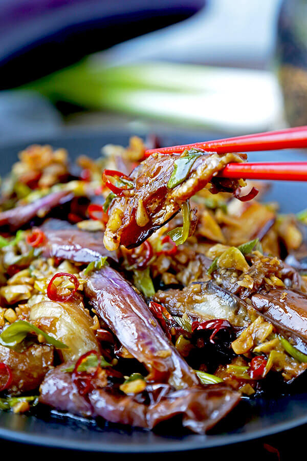 Chinese eggplant with garlic sauce pickled plum food and drinks chinese eggplant with garlic sauce this is a quick and easy dish thats sweet forumfinder Image collections