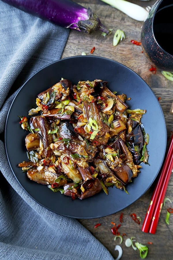 Chinese eggplant with garlic sauce pickled plum food and drinks chinese eggplant with garlic sauce forumfinder Images