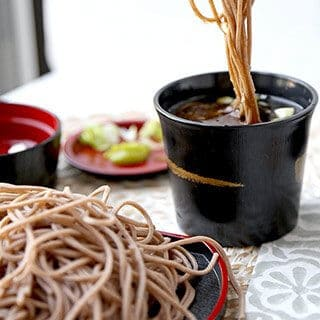 Zaru Soba (Cold Soba Noodles With Dipping Sauce)