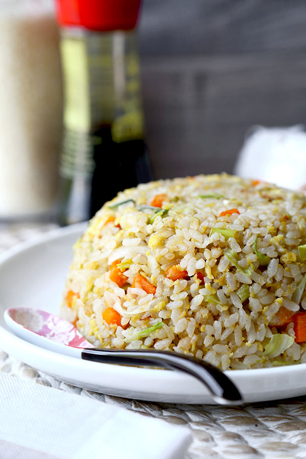 Japanese Fried Rice No Teppanyaki Grill Top Needed To Whip Up This Simple And Savory