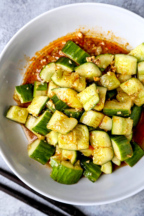 Eggplant and Pepper Salad
