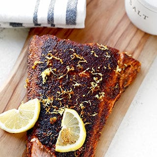 Sumac-Spiced Blackened Salmon