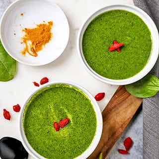 Green Detox Soup (Vegan, Gluten Free)