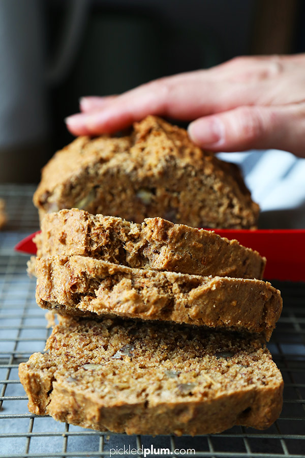 Healthy vegan banana bread pickled plum food and drinks healthy vegan banana bread forumfinder Image collections