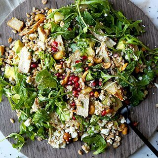 Bountiful 8 Layer Farro Salad