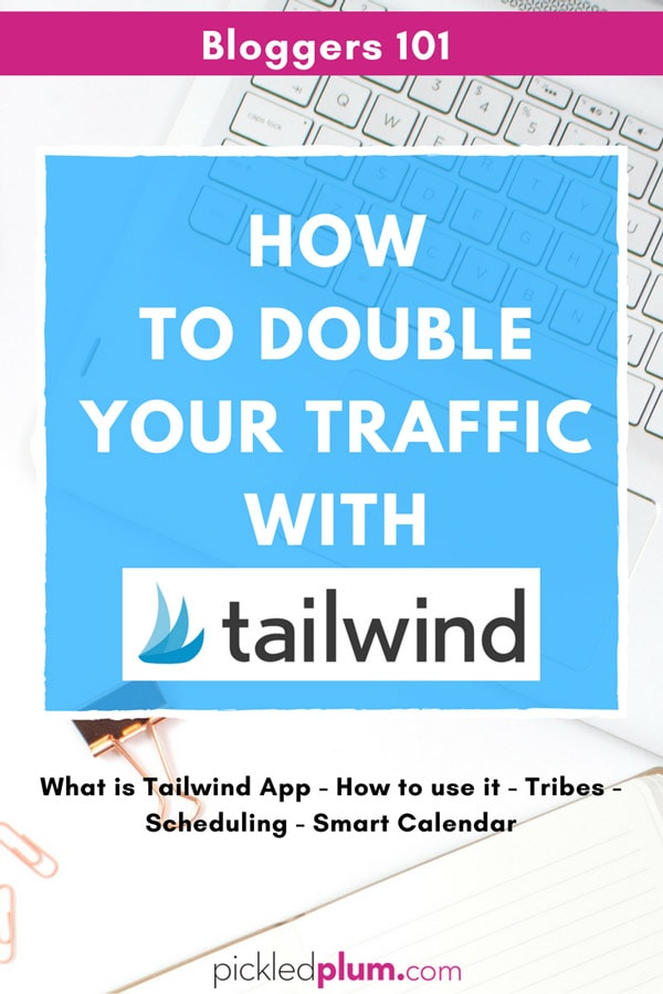 How To Double Your Traffic With Tailwind - Learn how to grow your blog by using Tailwind to double, even triple your traffic! Become a Pinterest champion by following these steps and watch your traffic improve in a matter of weeks! This is a must for serious bloggers looking to market themselves or their products. #pinterestmarketing #blogging #makemoneyonline #tailwindtribes
