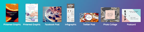 canva for creating beautiful graphics for your bluehost website